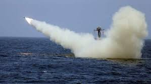 Iran fires missile at mock aircraft carrier amid US tensions