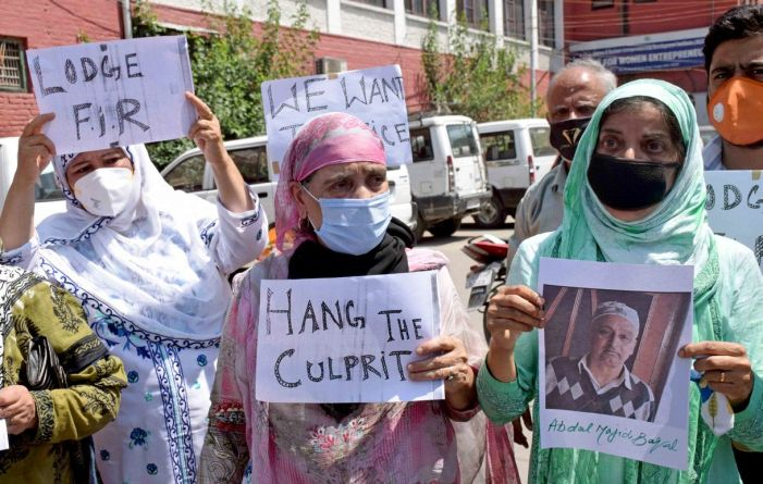 Chanapora murder case: Family stages protest, demands action against accused