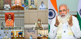 COVID-19 situation: PM interacts with CMs of around 10 states