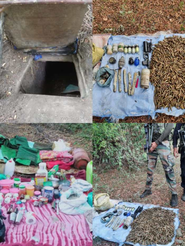 LeT hideout busted in Awantipora, arms and ammunition recovered: Police
