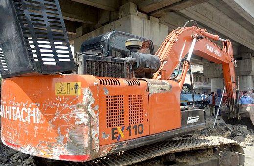 JKERA starts work on Rigid Concrete Pavement on Civil Secretariat-Rambagh road