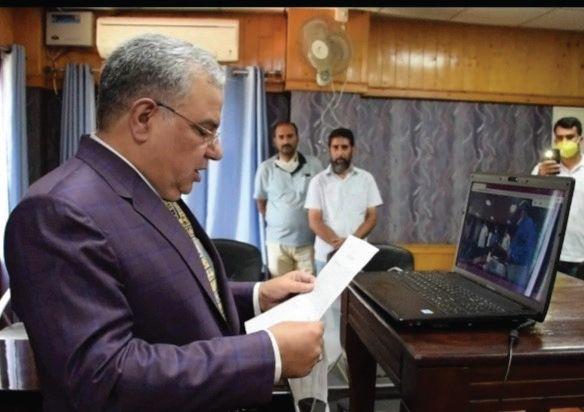 Ahfadul Mujtaba administered oath as PSC member