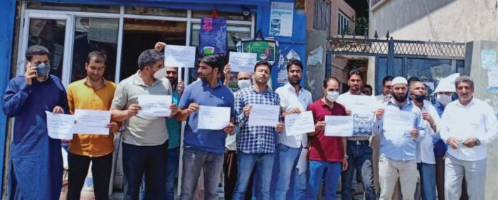 Protests in Tral, Pampore