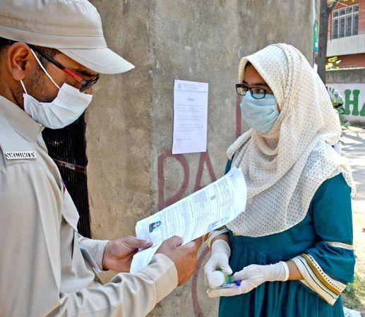 Amid social distancing, precautions, NEET exams held in Valley