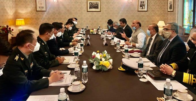 Defence minister Rajnath Singh meets his Chinese counterpart in Moscow amid border tension in Ladakh