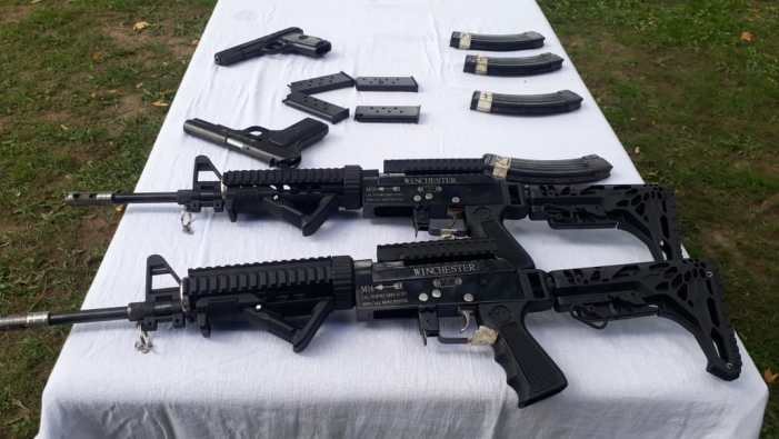 Militant hideout busted in Poonch, large cache of arms seized