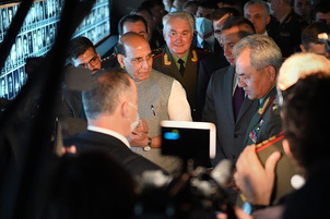 Rajnath visits Russian armed forces' main cathedral in Moscow