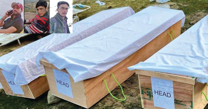 Bodies of Rajouri labourers exhumed, handed over to families