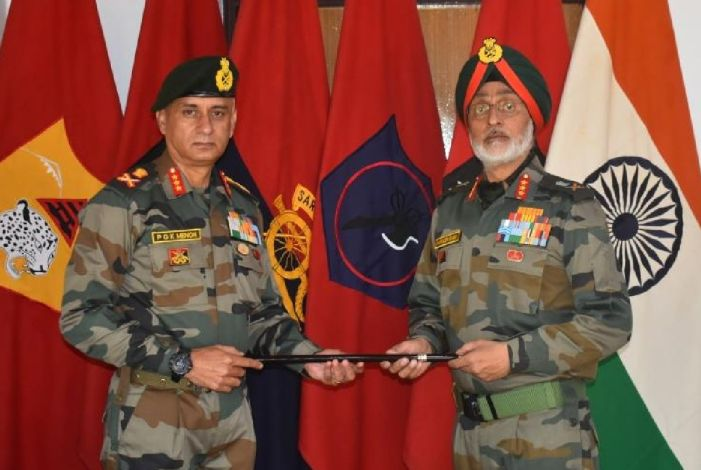 Gen Menon is new head of fire and fury corps
