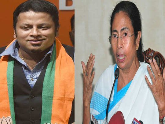 BJP leader who threatened to hug Mamata if he contracted COVID-19 tests positive for infection