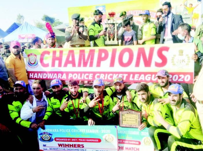 Handwara Police Cricket League: SCC lifts summit trophy