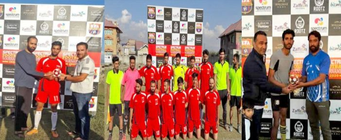 Spectrum Football Tournament: Regal FC, Khumanie FC win their matches