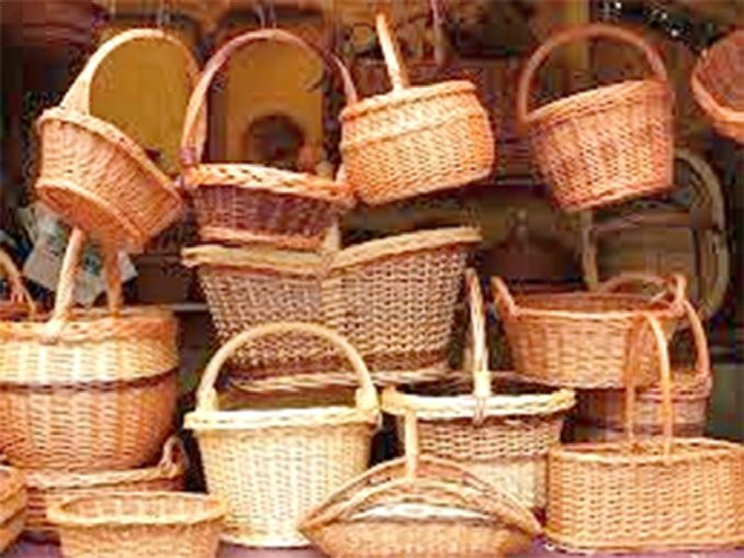 Intricacies of willow wicker craft