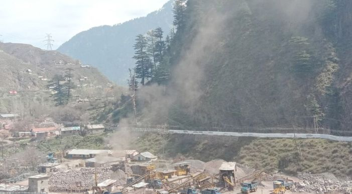 RTI Movement demands shifting hot-mix plant, stone-crusher along river Jhelum in Uri