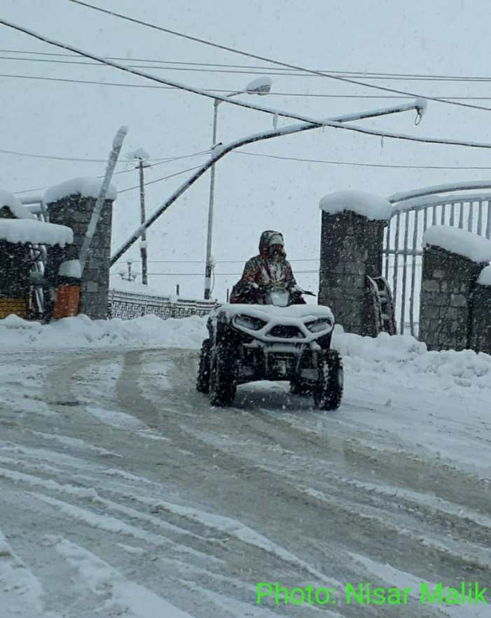 Light to moderate snow in higher reaches of Kashmir, Pirpanjal till Wednesday: IMD