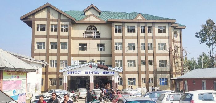 Shopian district hospital without radiologist, no ultrasound possible