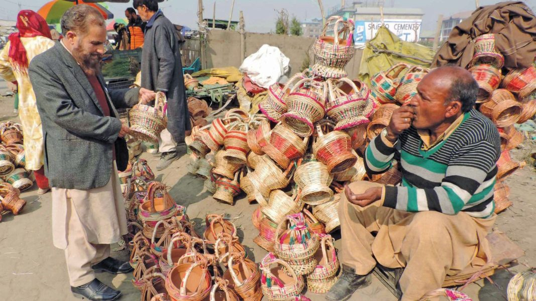 The traditional firepot is in high demand for keeping people warm in winters