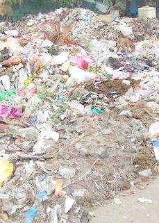Unattended garbage cause inconvenience to Bla locals