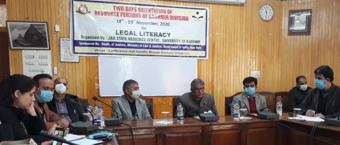 Legal literacy can transform people's lives: Prof Talat