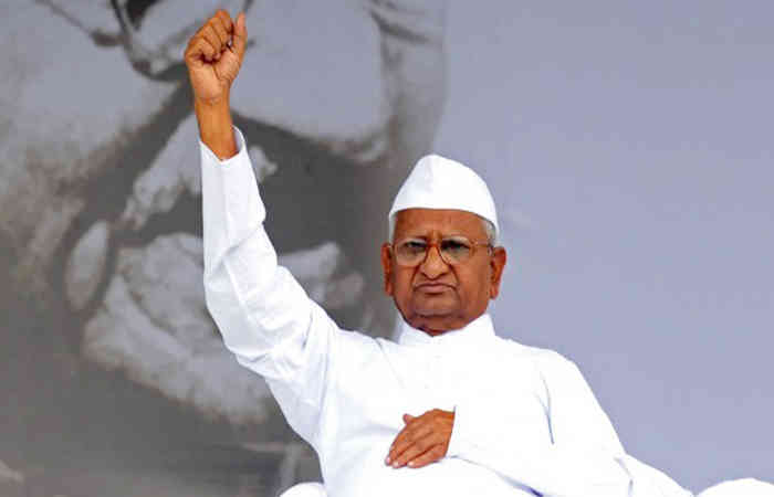 Bharat Bandh: Anna Hazare on fast to support farmers