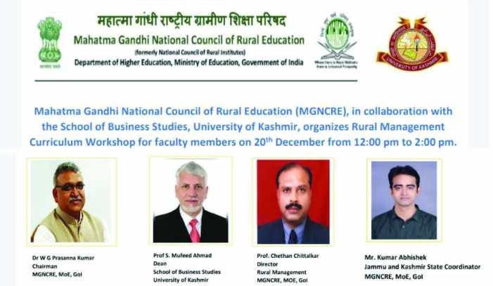 MGNCRE-KU organise awareness programme on MBA Rural Management