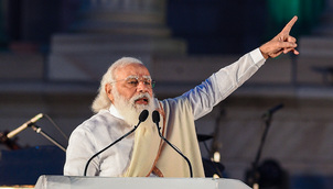 Strong India following Netaji's footsteps, from LOC to LAC: PM
