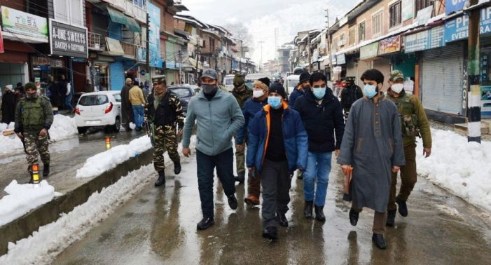 DC B'la tours several areas, takes stock of restoration of essential services