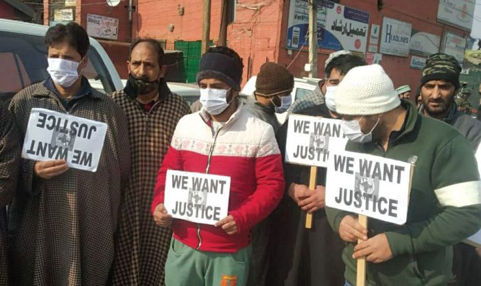 No end to stalemate over mutton rates: Mutton dealers protest in Srinagar, demand govt provide them livestock