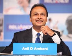India's top-notch businessman, Anil Amabani arrives Srinagar