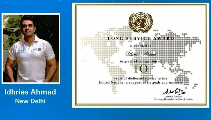 MERC congratulates Idhries Ahmad for being awarded by UNICEF