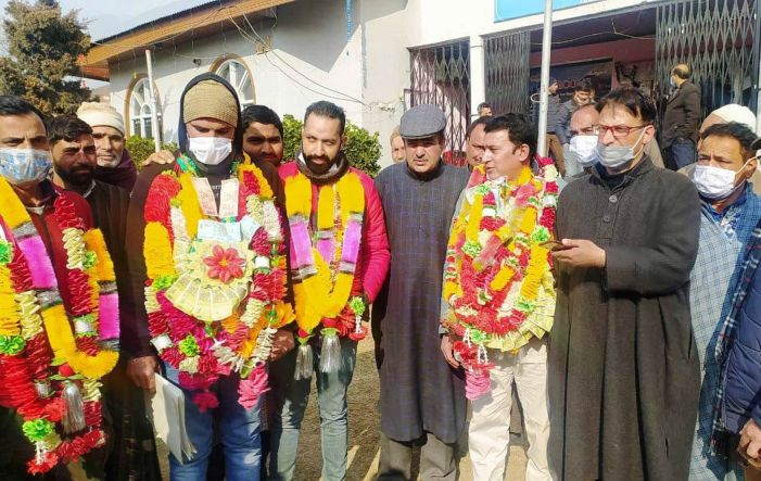 NC's Bilal Bhat elected Chairman for MC Awantipora, Shani Gul as Vice Chairman