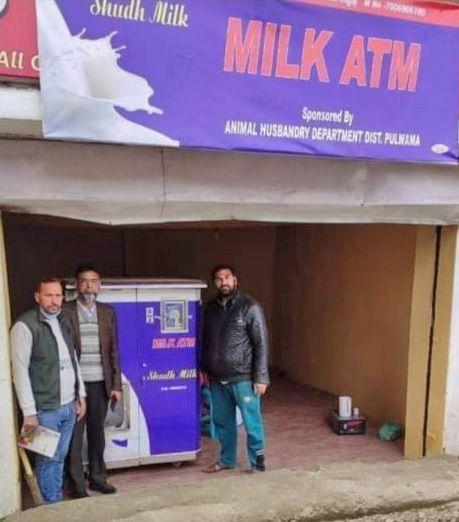 Pulwama gets Kashmir's first 'Milk ATM'