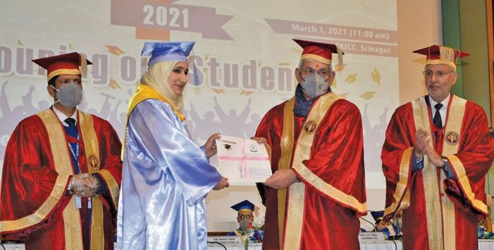 IUST's first convocation marks 15 years of academic excellence