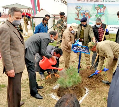 PCCF urges all to join Forest department in restoration of forests, increase tree, forest cover