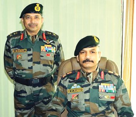 Lt Gen Pandey takes over as 15 Corps commander