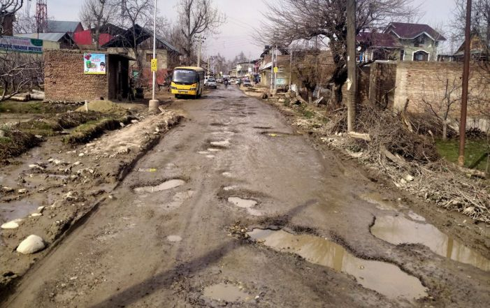 R&B department awaits 'clear weather' to repair damaged roads