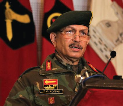 Army Commander reviews security situation in Kashmir