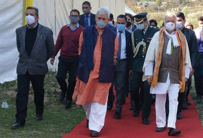 Peace has returned to Kashmir after many decades: LG Sinha