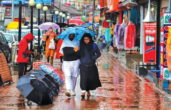 Light rainfall across valley, 'wet-spell' to end today