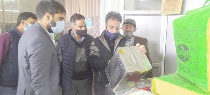 Many shopkeepers fined, mutton shop sealed in Pampore