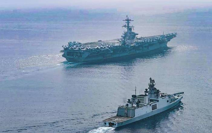 Pentagon defends US Navy ship asserting navigational rights inside India's EEZ without permission