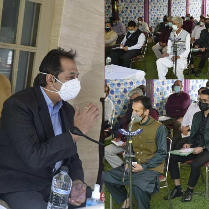 Govt Relieves Baseer Khan As Advisor To LG