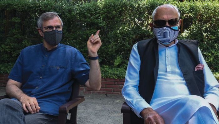 We said we don't accept the Aug 5 decisions: Omar on meeting with Modi