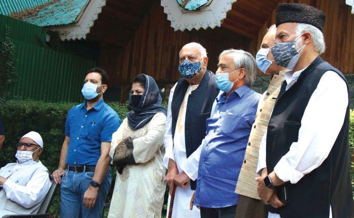 Hoax of BJP's 'Naya Kashmir' is a joke now: PAGD