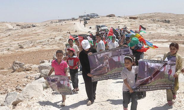 The displacement of Palestinians