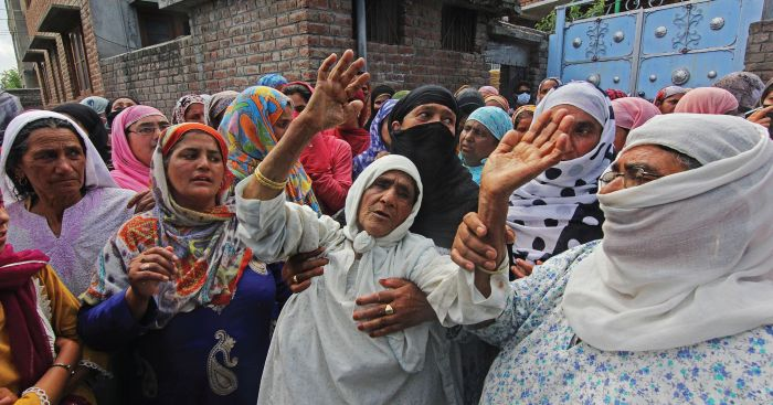 Militant attack in Sopore town leaves 2 cops, 2 civilians dead 'in a pool of blood'