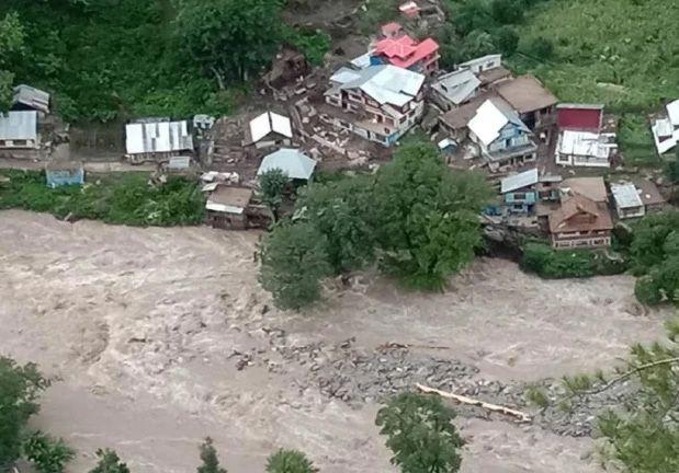 Search on for 20 missing in Kishtwar village