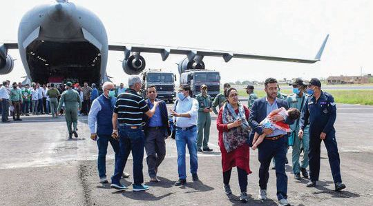 India evacuates nearly 80 people from Kabul