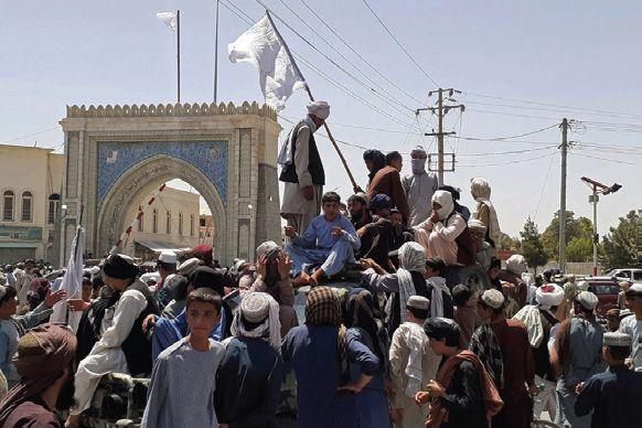 Taliban at the gates of Kabul