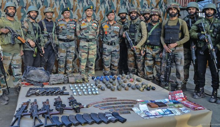 Three heavily armed militants killed in Uri: Army